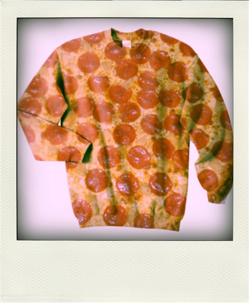 Pizza sweater - mlkshk