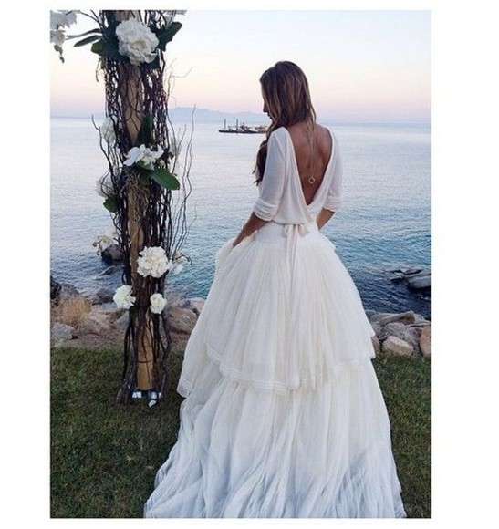 fairytale wedding dress white dress princess wedding dresses unique dream dress classy hipster wedding
