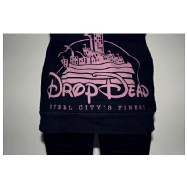 shirt drop dead clothing drop dead clothing disney