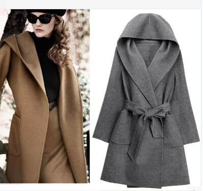Cashmere coat woolen coat fd1213e