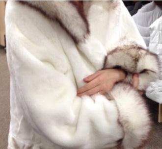 coat fur faux fur coat white coat white fur winter outfits white faux fur faux fur coat