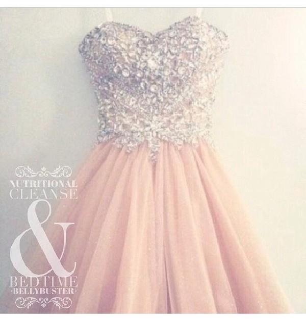 dress light pink diamonds