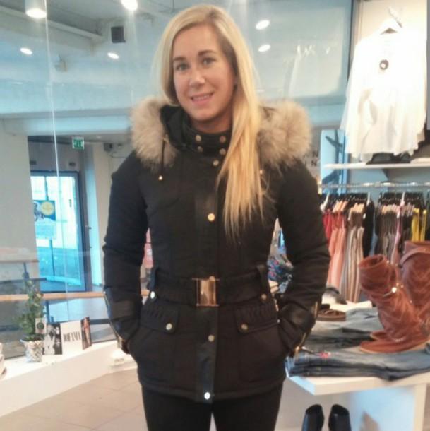 coat fur fur hood