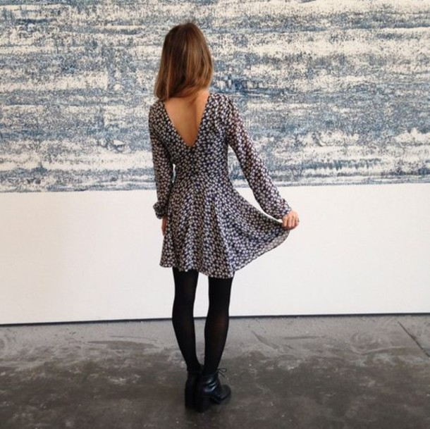 Long Sleeve Dress with Leggings