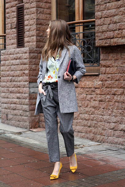 fashion and style blogger shoes pants shirt coat bag jewels