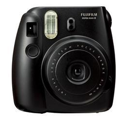 Fuji Instax Mini 8 Black Instant Camera (P10GLB3060A) - dabs.com