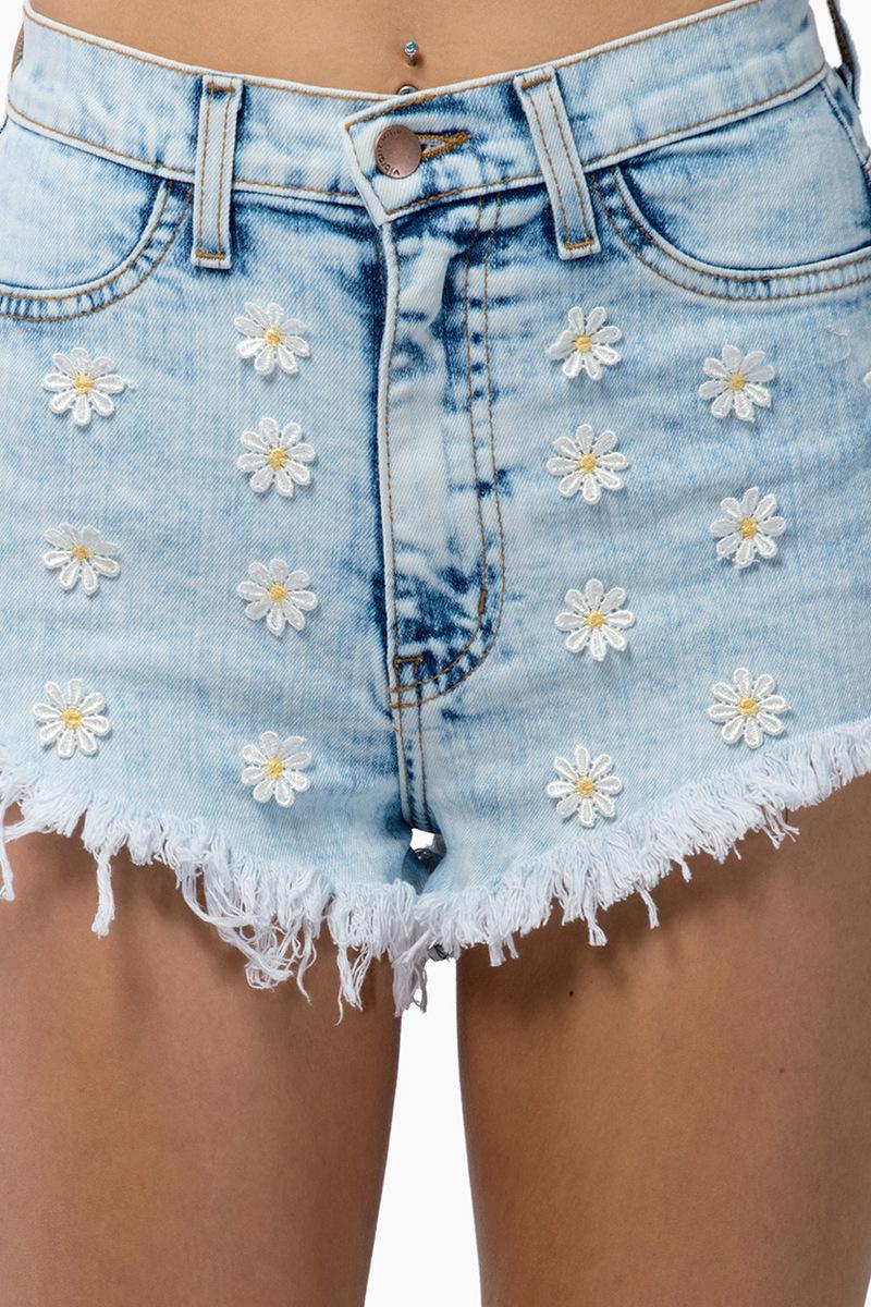 Daisy Me Rollin Shorts $76