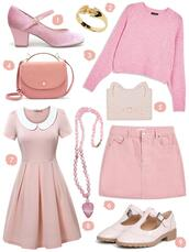 scathingly brilliant,blogger,shoes,jewels,sweater,bag,skirt,dress,all pink everything,all pink wishlist,pink dress,pink skirt,pink sweater