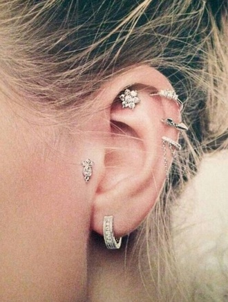 jewels helix gold ring helix piercing ear piercings piercing earrings silver special helix ring