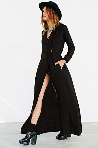 dress maxi dress black dress long sleeve dress