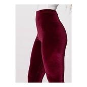 pants,burgundy,leather