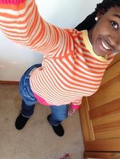 shoes,ugg boots,tommy hilfiger,stripes,pink,orange,jeans,black