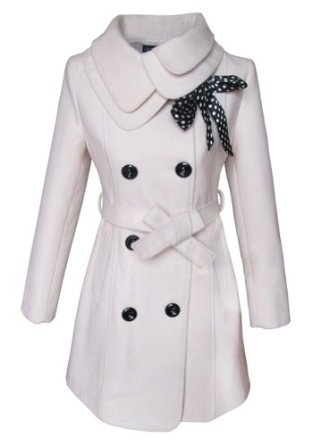 Amazon.com: AMC Women's Slim Winter Coat with Button Up Closure Cotton: Clothing