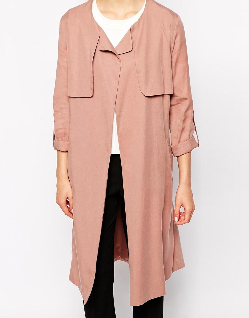 Y.A.S Aurelia Trench Coat at asos.com