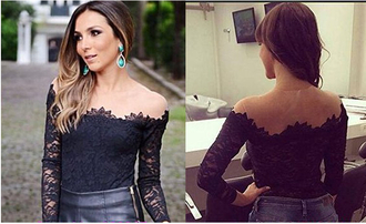 shirt pattern floral pattern dark shoulder free