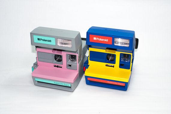RARE Vintage Polaroid Supercolor Espirt Camera Collectables | eBay