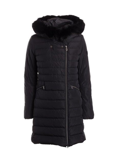 Peuterey jacket down jacket fur fit black