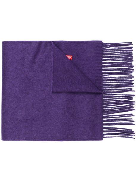 gucci women scarf silk purple pink