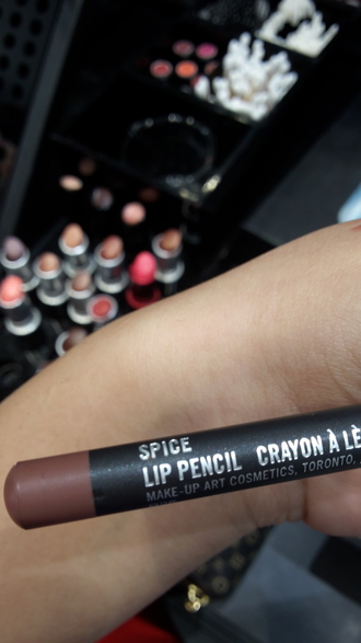 make-up mac cosmetics mac cosmestics lip liner lips red black store