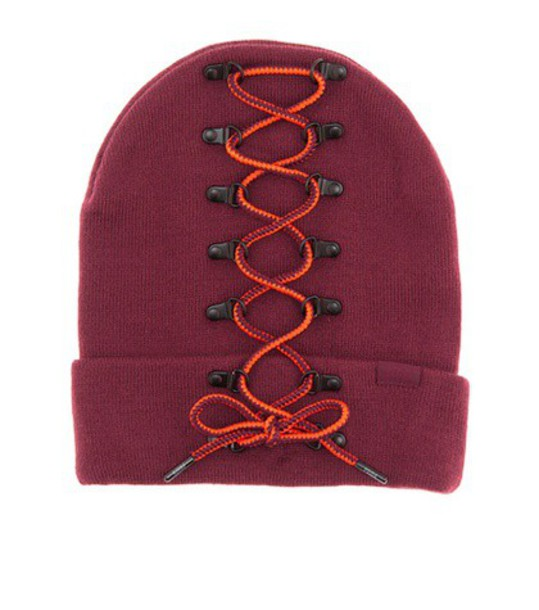 FENTY by Rihanna embellished beanie red hat