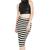 Breton Stripe Midi Skirt