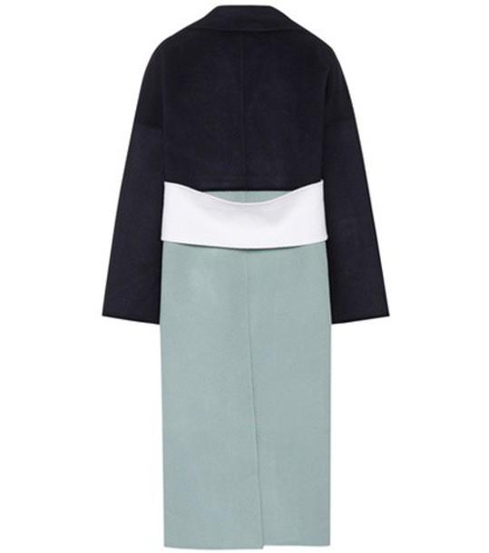 Rejina Pyo coat wool blue