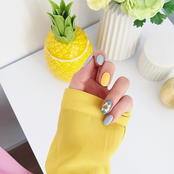 Nail Accessories Tumblr Polish Nails Art Pastel