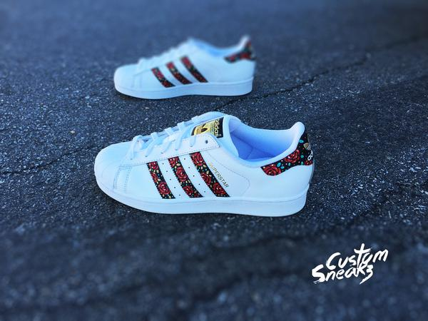 official adidas superstar custom made 43358 87560