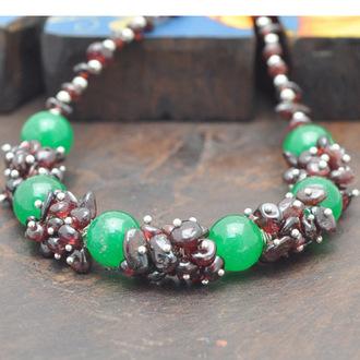 jewels necklace stone precious