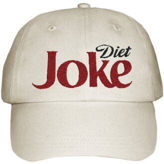 hat diet coke coca cola baseball cap funny parody diet joke cool supreme