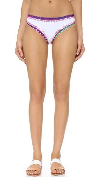 bikini bikini bottoms short white swimwear