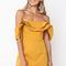Avianna dress - mustard
