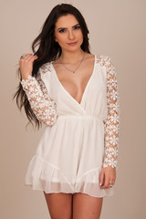Wonderland playsuit