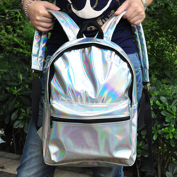 bag harajuku backpack laser backpack holographic hipster bag hipster backpack cool cool bags