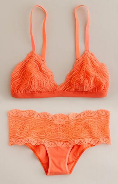 3fc2248dcc orange orange underwear orange swimwear underwear swimwear ruffled bikini  coral bikini swimwear bra brand how much