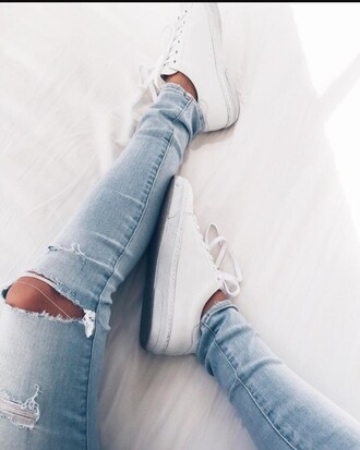 jeans high waisted jeans ripped jeans blue jeans skinny jeans tumblr stylish