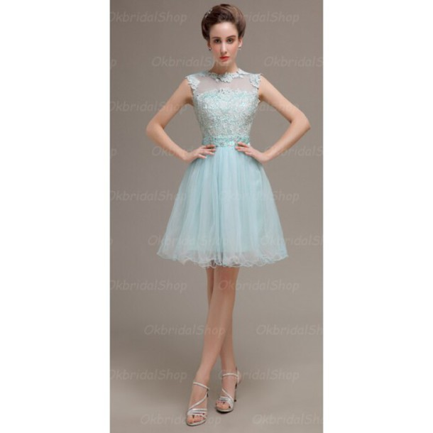 dress prom dress short