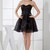 Black Informal A-line Sweetheart Backless Mini Plainness Homecoming Dresses - iFitDress.com
