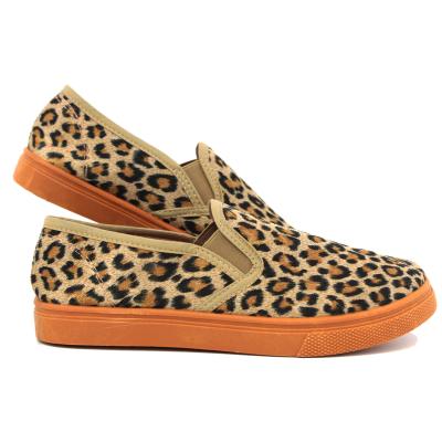 Leopard furry van
