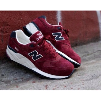 shoes new balance shoes in burgundy new balance