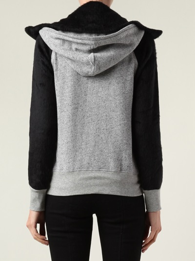 194t Multiple Panel Hoodie - Mario's - Farfetch.com