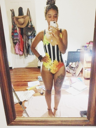 swimwear one piece swimsuit bathing suit