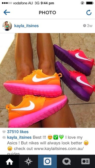 orange shoes nike, free run, trainers, running, sport, athletic, white, grey, shoes, fitness nike free run