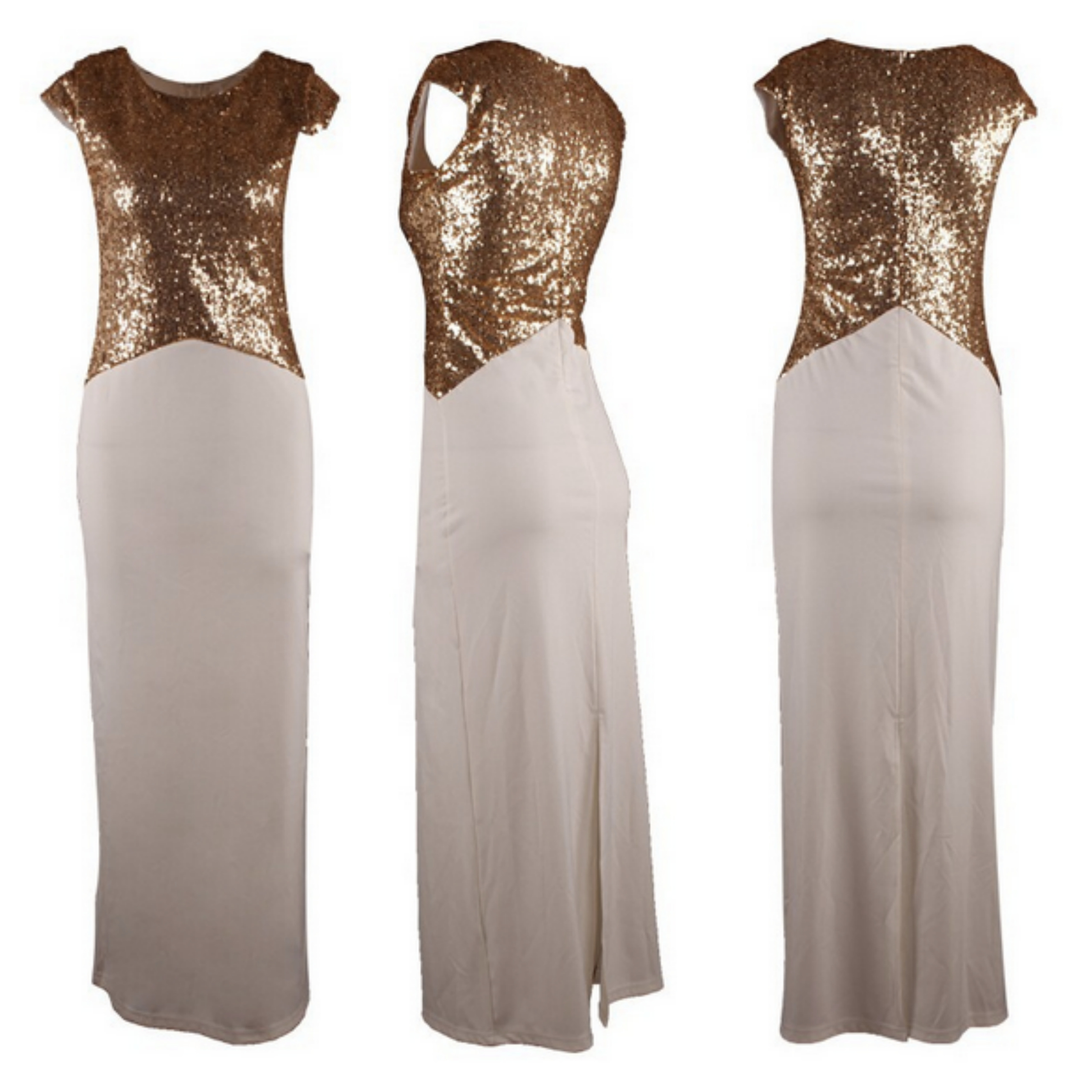 Suave sequin maxi dress