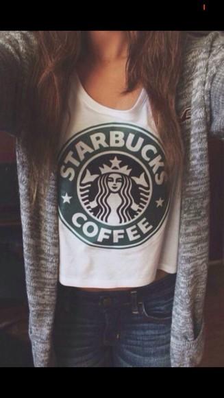 tumblr cute tumblr outfit cardigan starbucks hollister top