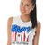MTV Cropped Vest Tee