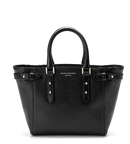Marylebone mini leather tote