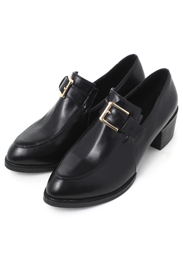 shoes buckles home decor pointed toe loafers