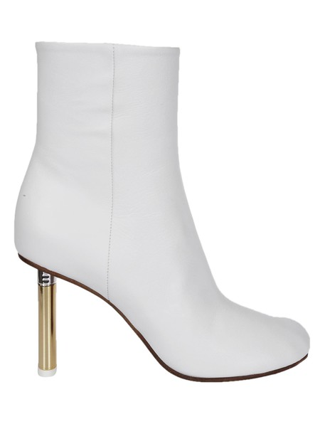 Vetements ankle boots white shoes