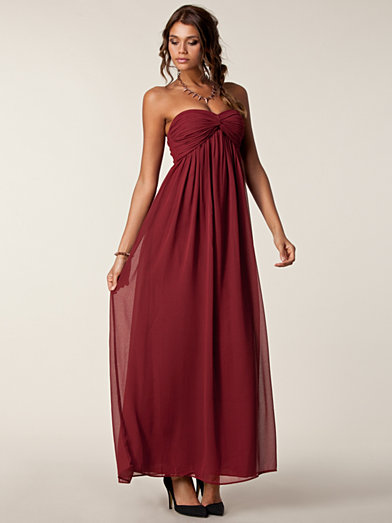 Dreamy Dress - Nly Trend - Burgundy - Party Dresses - Clothing - Women - Nelly.com
